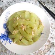 虾皮炒菜瓜