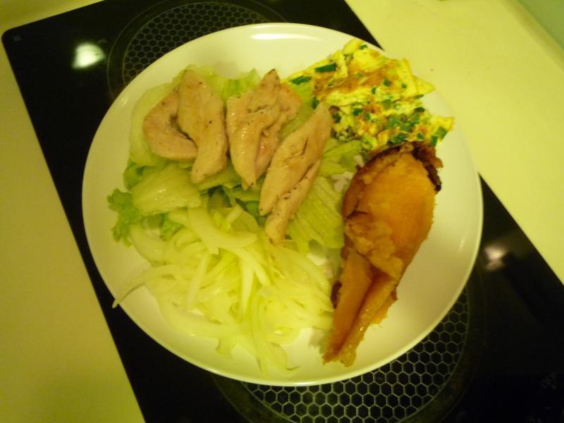 夏天健康好料理*洋葱鸡肉沙拉
