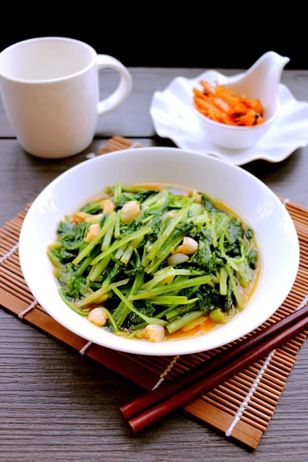虾油小白菜