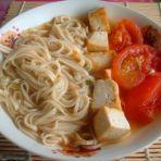 西红柿豆腐面