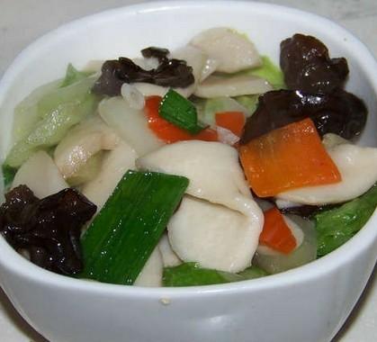 杏鲍菇小炒的做法