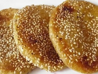 杏子酱糯米饼