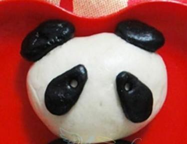 熊猫豆包的做法