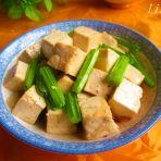 西芹炖豆腐