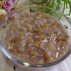 雪耳绿豆粥