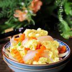 洋葱胡萝卜炒鸡蛋