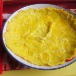 洋葱煎蛋饼