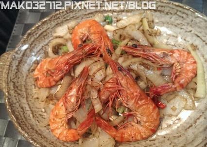 洋葱椒盐虾