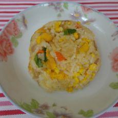洋葱鸡蛋炒饭
