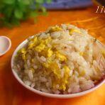 洋葱鸡蛋炒米饭