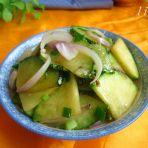 洋葱南瓜片的做法