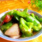 洋葱青椒肉片的做法