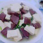 羊血豆腐汤