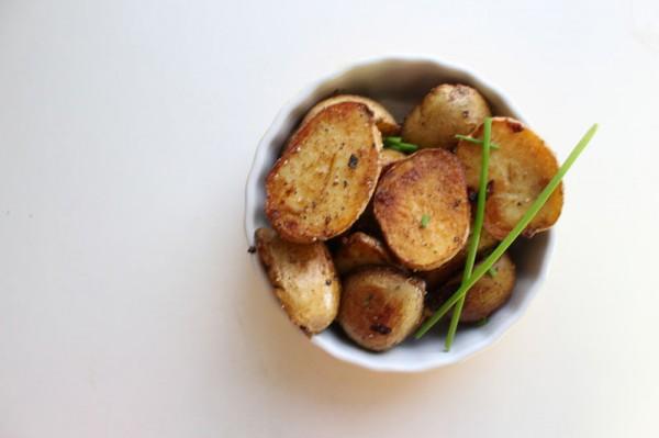 盐煎小土豆的做法
