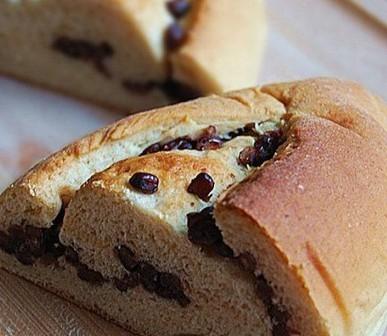 燕麦红豆面包