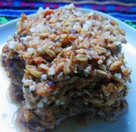 燕麦蒸肉饼