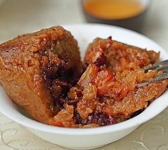 瑶柱酱肉粽的做法