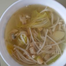 瑶柱蔬菜美味汤