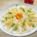 瑶柱蒸豆腐