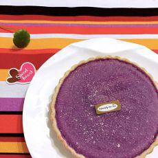 椰奶紫薯派