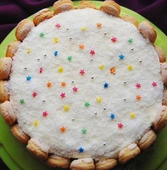 椰蓉奶油蛋糕的做法