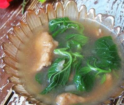 野苋菜滑肉汤