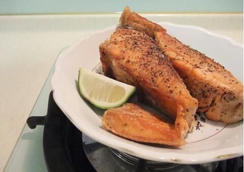 意大利香煎鲑鱼