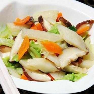 营养香菇素炒的做法