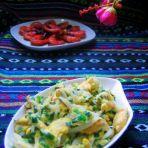 银鱼韭菜炒蛋的做法