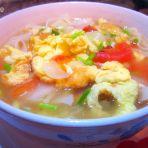 圆白菜炝锅面的做法