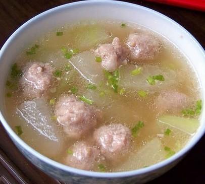 原创首发:冬瓜肉丸汤的做法