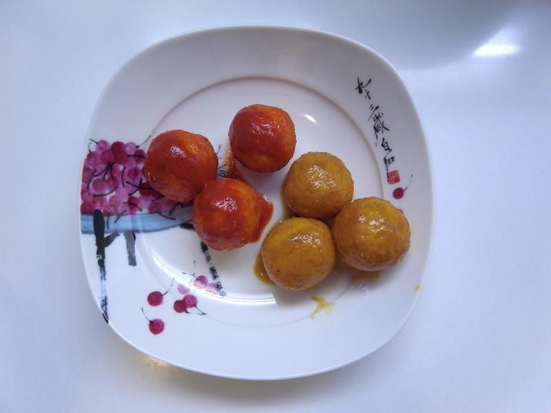 鸳鸯黄金鱼蛋(咖哩+麻辣)