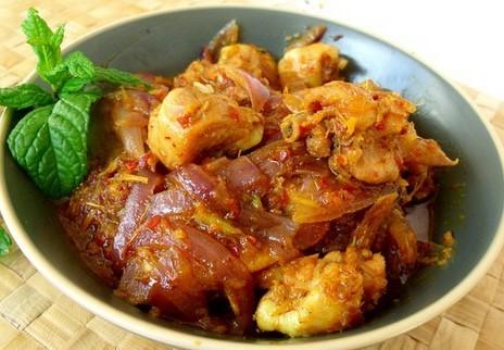 越式香茅鸡