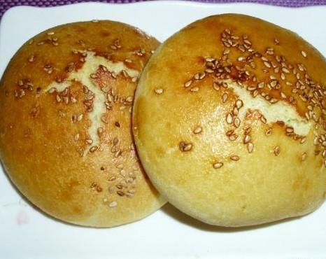 玉米面香烤饼