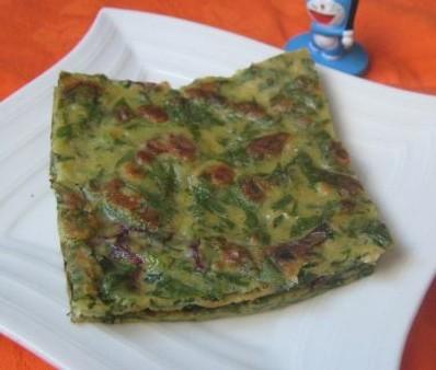 玉米面野菜饼