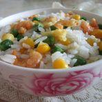 玉米虾仁蛋炒饭