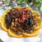 云耳金针菜炒牛肉