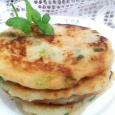 芋头葱花饼的做法