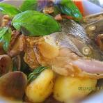 杂菜咖喱三文鱼头