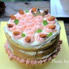 杂果裸蛋糕