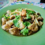 杂锦海鲜烩蘑菇的做法