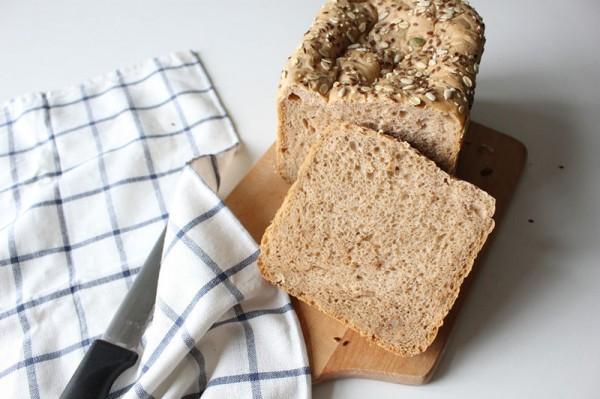 杂粮核桃面包