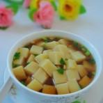 斋汤米豆付的做法