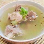 炸蒜芹菜排骨汤