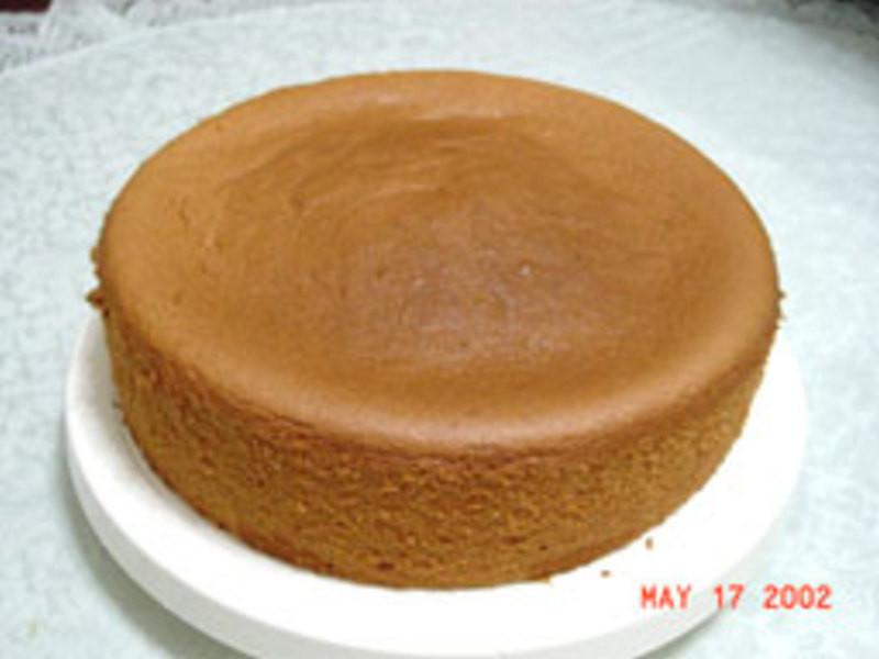 蒸锅式戚风蛋糕的做法