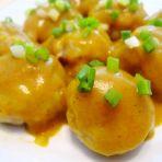 蒸咖喱土豆丸子