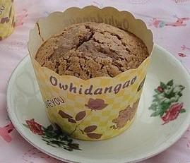 纸杯可可蛋糕