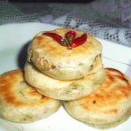 芝麻葱香饼