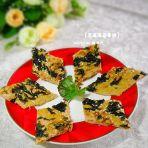 芝麻海苔蛋饼的做法