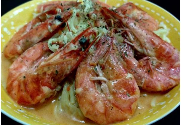 芝士牛油焗虾